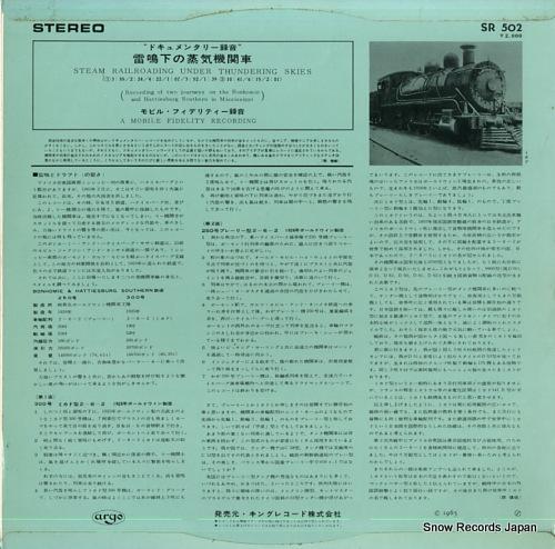 DOCUMENTARY steam railroading under thundering skies
