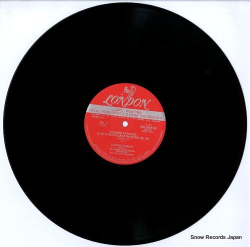 KRAUSS, CLEMENS richard strauss; also sprach zarathustra, op.30 SOL5001M - disc