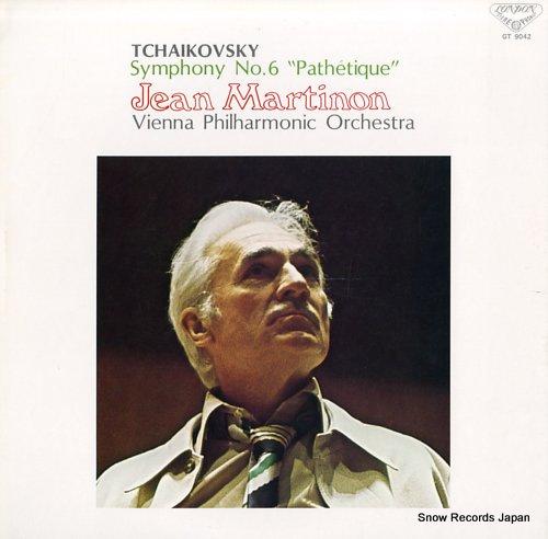 MARTINON, JEAN tchaikovsky; symphony no.6