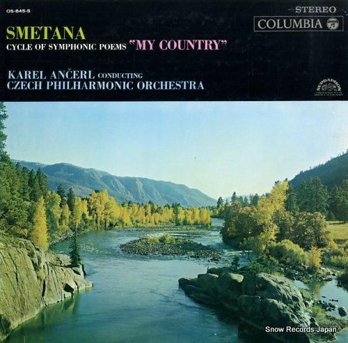 ANCEL, KAREL smetana; cycle of symphonic poems