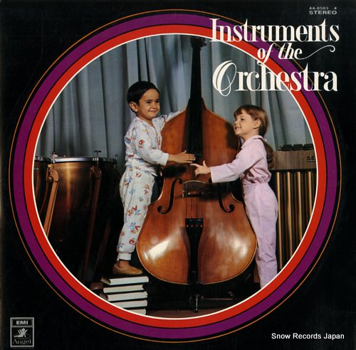 KAWAMURA YOKO - instruments of the orchestra - 33T