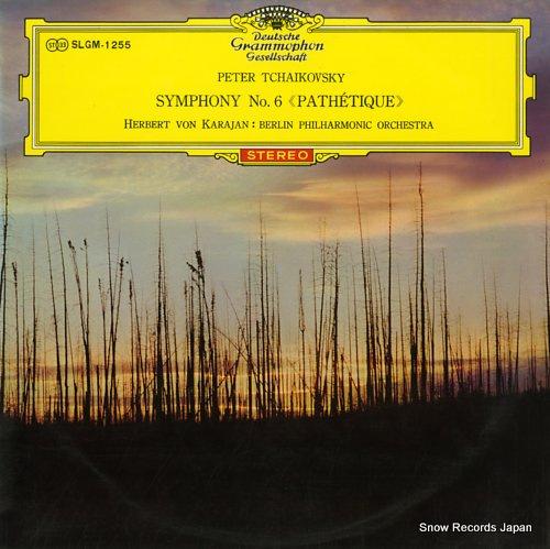 KARAJAN, HERBERT VON tchaikovsky; symphony no.6