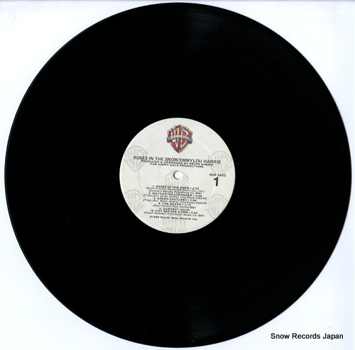 HARRIS, EMMYLOU roses in the snow BSK3422 - disc