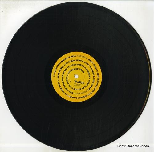 TOAST crashlanding in hell TR-LP003 - disc