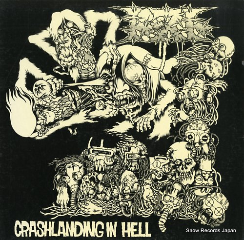 TOAST crashlanding in hell TR-LP003 - front cover