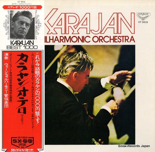 KARAJAN, HERBERT VON verdi; otello highlights GT9016 - front cover