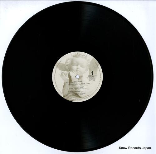 MILSTEIN, NATHAN mendelssohn & tchaikovsky; violin concerto EAC-30017 - disc