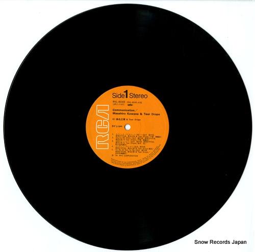 KUWANA, MASAHIRO communication RVL-8045 - disc