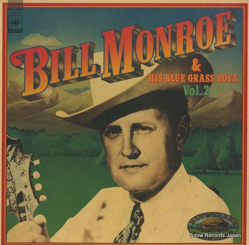 MONROE, BILL bill monroe & his blue grass boys vol.2 20AP12 - front cover