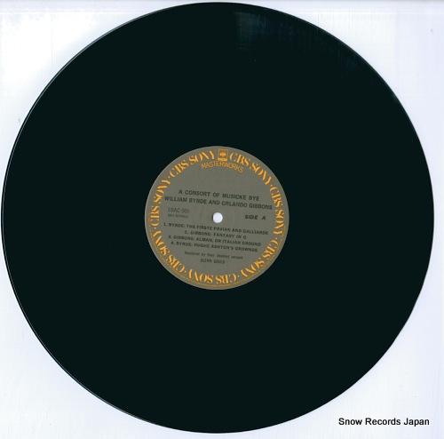GOULD, GLENN a consort of musicke bye byrde & gibbsons 18AC959 - disc