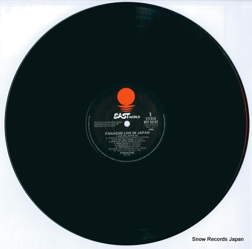PANACHE live in japan WTP-90187 - disc