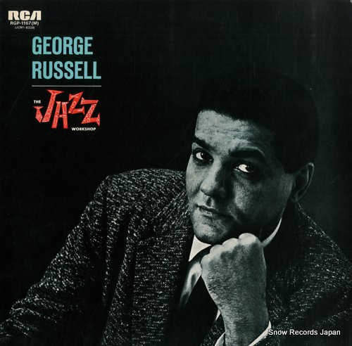 RUSSELL, GEORGE the jazz workshop RGP-1167(M) - front cover