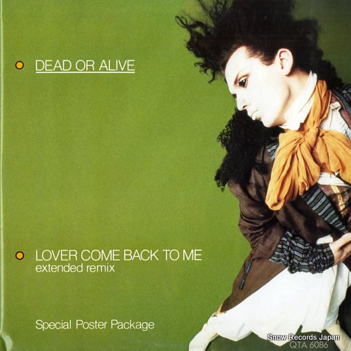デッド・オア・アライヴ lover come back to me QTA6086