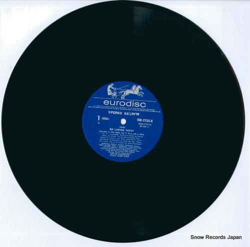 STOLZ, ROBERT lehar; die lustige witwe OW-7750-51-K - disc