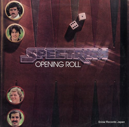 SPECTRUM opening roll ROUNDER0136 - front cover