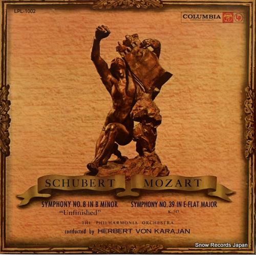 KARAJAN, HERBERT VON schubert; symphony no.8