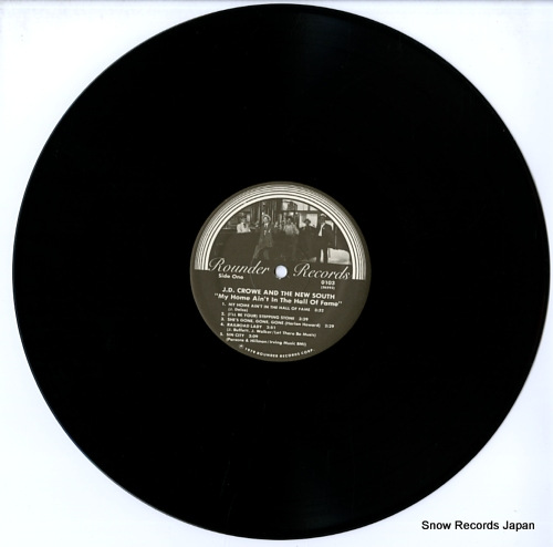 CROWE, J.D. my home ain't in the hall of fame ROUNDER0103 - disc