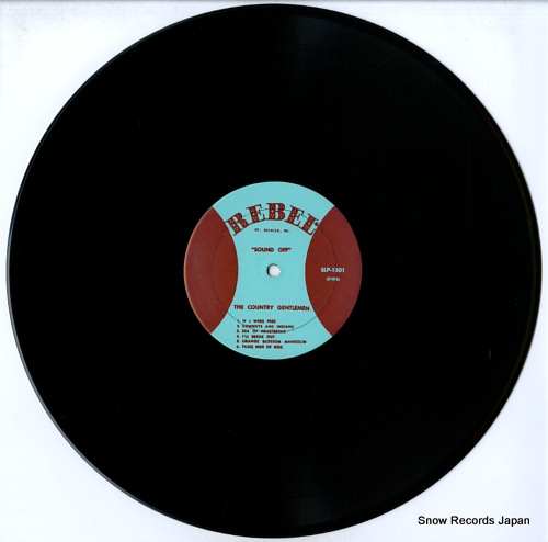 COUNTRY GENTLEMEN, THE sound off SLP-1501 - disc