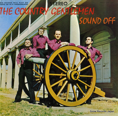 COUNTRY GENTLEMEN, THE sound off SLP-1501 - front cover