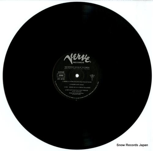 FARLOW, TAL the swinging guitar MV4018 - disc