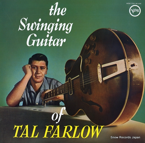 FARLOW, TAL the swinging guitar MV4018 - front cover