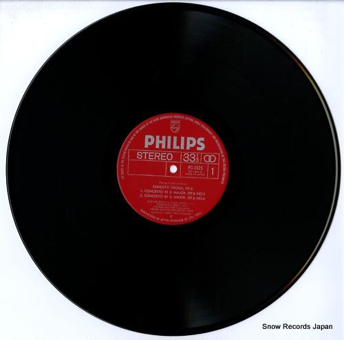 MARGRAF, HORST-TANU handel; concerti grossi op.6 nos.5, 6, 7 & 8 PC-1825 - disc