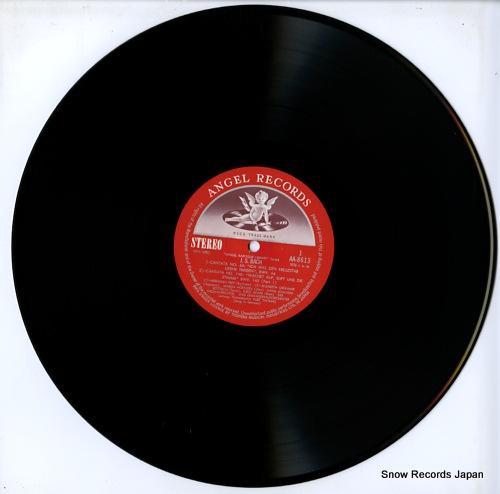 THOMAS, KURT bach; cantatas nos.56 & 104 AA-8613 - disc