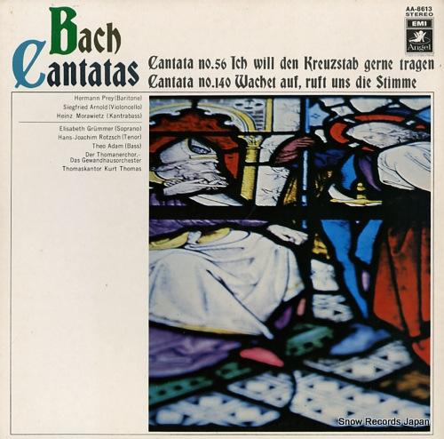 THOMAS, KURT bach; cantatas nos.56 & 104 AA-8613 - front cover