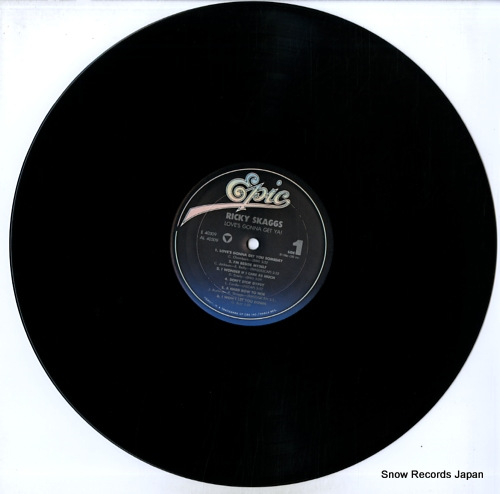 SKAGGS, RICKY love's gonna get ya! FE40309 - disc