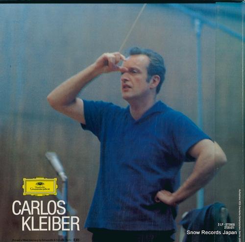 KLEIBER, CARLOS weber; der freischutz 2720071 / 2561289-91 - back cover