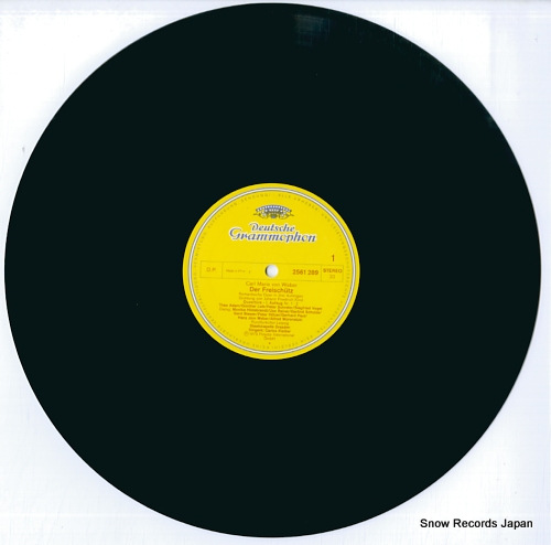 KLEIBER, CARLOS weber; der freischutz 2720071 / 2561289-91 - disc