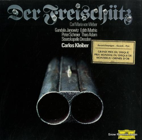 KLEIBER, CARLOS weber; der freischutz 2720071 / 2561289-91 - front cover