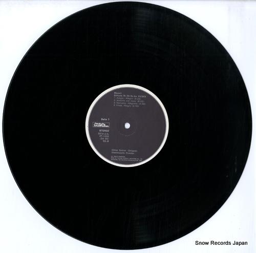 SUITNER, OTMAR mozart; sinfonie nr.39 & 32 & 34 ET-1002 - disc