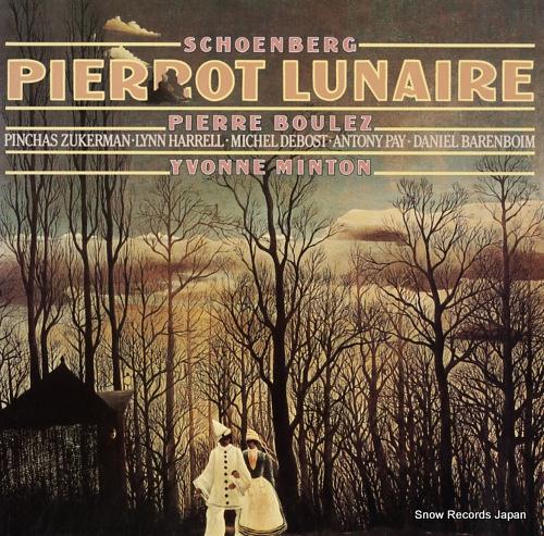 BOULEZ, PIERRE schoenberg; pierrot lunaire op.21 25AC684 - front cover