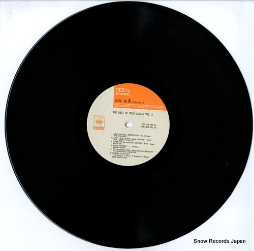 V/A the best of rock guitar vol.2 SOPI16-17 - disc