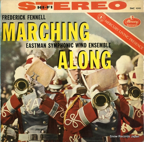 FENNELL, FREDERICK marching along SMC1010 - front cover