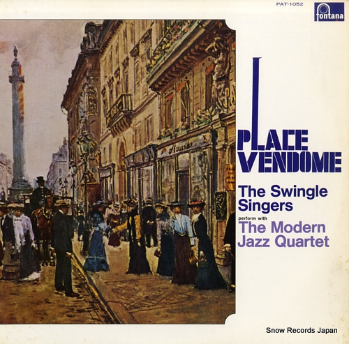 SWINGLE SINGERS, THE place vendome PAT-1052 - front cover