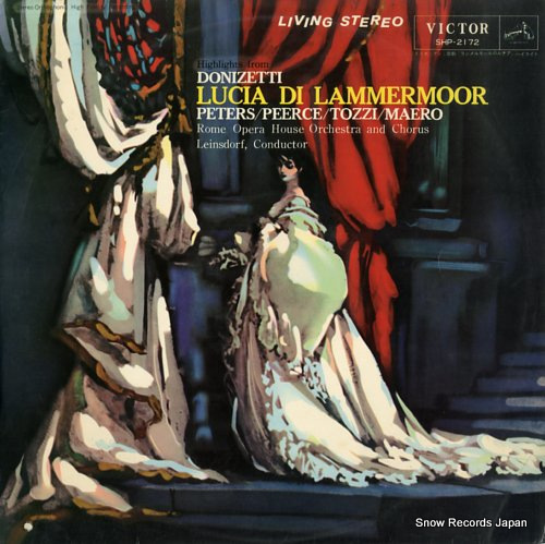 LEINSDORF, ERICH donizetti; lucia di lammermoor highlights SHP-2172 - front cover