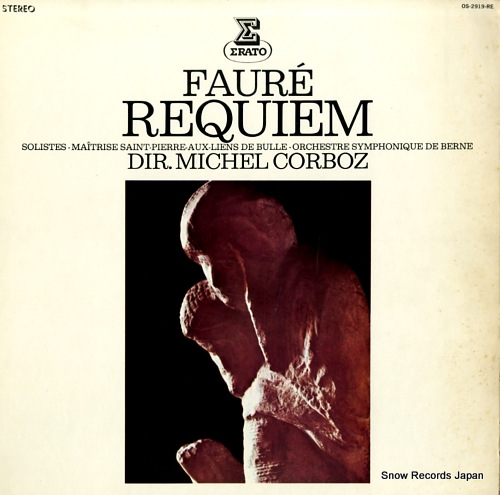 CORBOZ, MICHEL faure; requiem OS-2919-RE - front cover