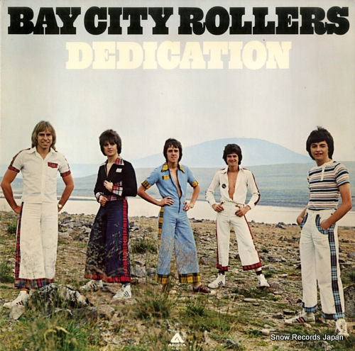 BAY CITY ROLLERS dedication AL4093 - front cover