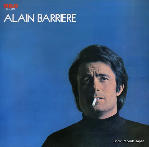 BARRIERE, ALAIN alain barriere RCA-5058 - front cover