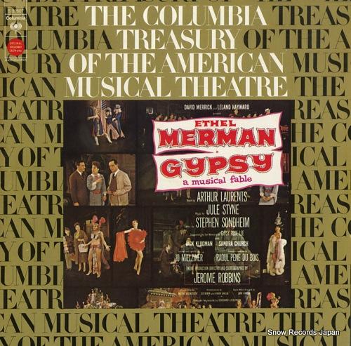 MERMAN, ETHEL gypsy S32607 - front cover