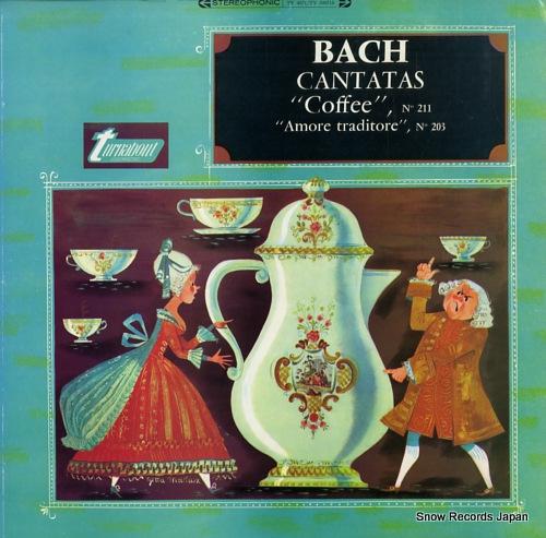 """ルドルフ・エヴァーハルト bach; cantatas """"coffee"""" """"amore traditore"""""""