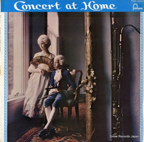 WALTER, PAUL concert at home FON-5533 - front cover