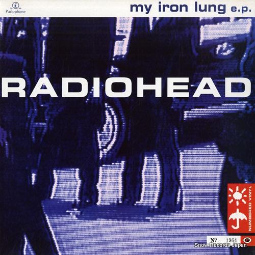 レディオヘッド my iron lung e.p.