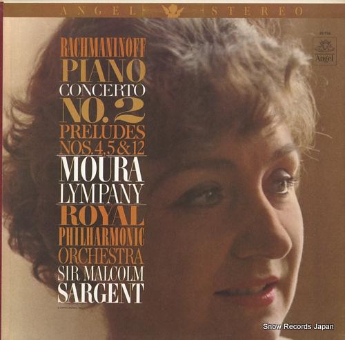 モーラ・リンパニー rachmaninoff; piano concerto no.2