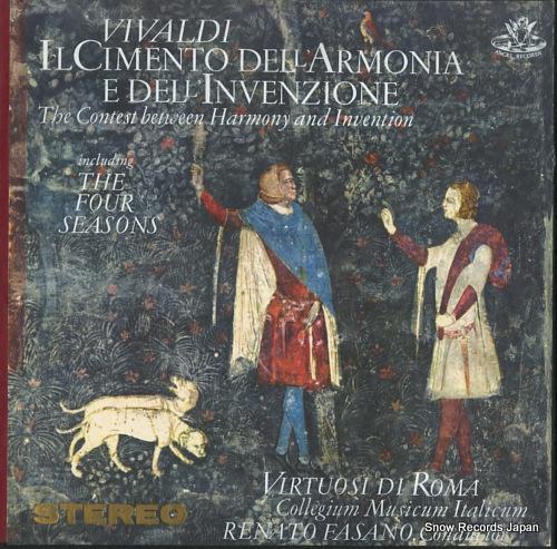 VIRTUOSI DI ROMA vivaldi; il cimento dell' armonia e dell' invenzione 3611C - front cover