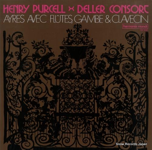DELLER CONSORT ayres avec flutes, gambe & clavecin VIC-5281 - front cover