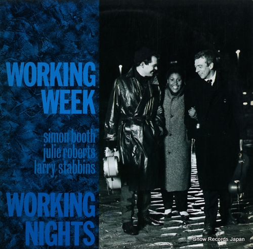 WORKING WEEK working nights VJL-125 - front cover