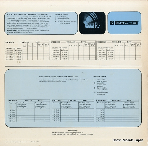 V/A era iv an audio obstacle course TTR115 - back cover